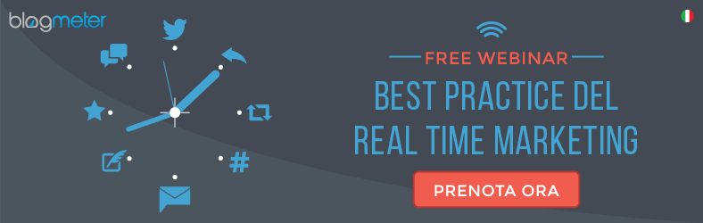 Free Webinar - Real Time Marketing - Blogmeter