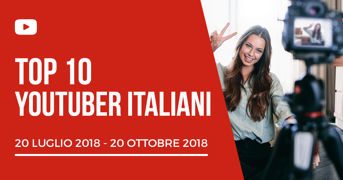Blogmeter Top 10: Youtuber Italiani più engaging su YouTube