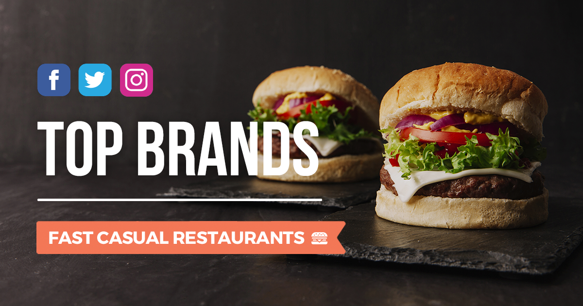 Blogmeter Top Brands: i Fast Casual Restaurants sui social